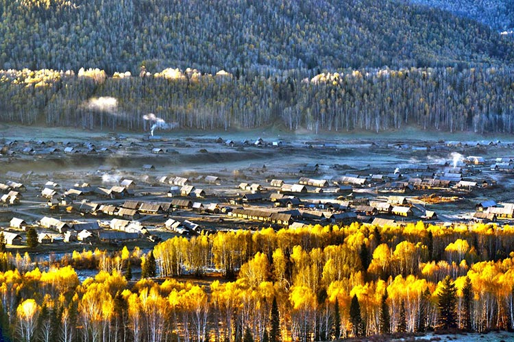 Hemu Village (source - Panoramio) - Top Quality Travel Routes in Xinjiang