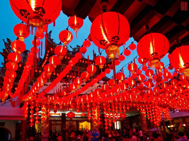 Decorations for the Chinese Spring Festival 2017 - Traditional Folk Customs at the Spring Festival of China