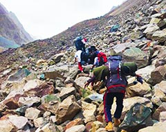 Trekking to Kilik Pass, on the Ancient Route between Pakistan and China