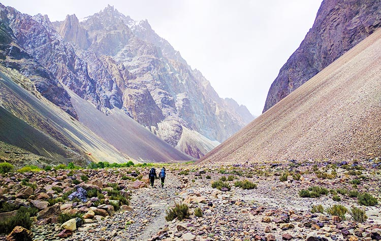 Trekking to Kilik Pass, on the Ancient Route between Pakistan and China - Trekking to Kilik Pass, on the Ancient Route between Pakistan and China