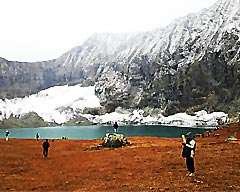 Trekking to Ratti Gali Lake
