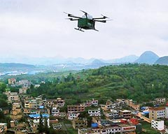 Unmanned Aerial Vehicle becomes a Postman in the Mountainous Areas of Guiyang