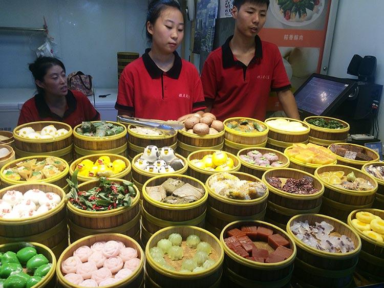 Tianzi Fang, Shanghai - Dumplings