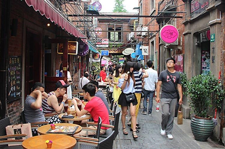 Tianzi Fang, Shanghai (source: Top China Travel) - Visit to Tianzi Fang, Shanghai by a Pakistani Student