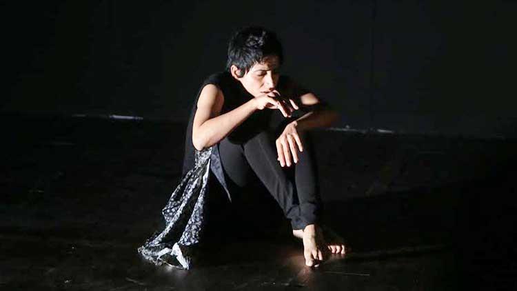 Joshinder Naggar as 'Joshu' - 'Wash Yourself of Yourself' at NAPA International Theatre and Music Festival