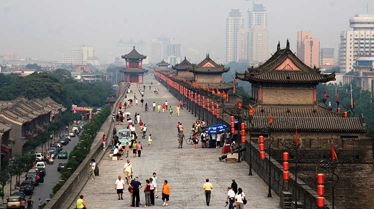 The historic city of Xi'an - Xi'an: Marks of the Ancient Silk Road and Progress with Its New Legends