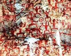 Zuojiang Huashan Rock Paintings, Guangxi