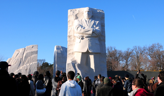 Dr. Martin Luther King Jr.'s Memorial Sculpture in Washington DC, by a Chinese Sculptor