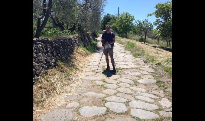 A LITTLE ASIDE ON ROMAN ROADS