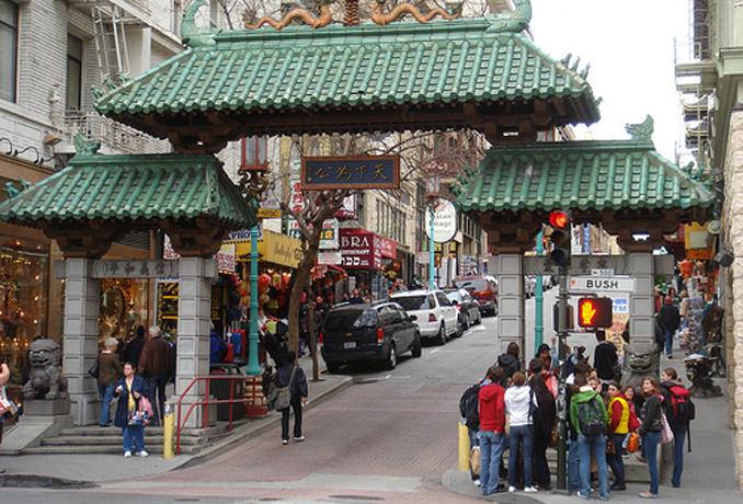 旧金山的唐人街