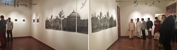 Lahore - Art Exhibition - The Garden City - Damon Kowarsky