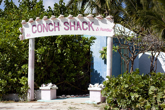 THE CONCH SHACK - EXOTIC NATIVE EATERY IN TURKS AND CAICOS!