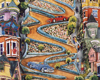 THE CROOKEDEST STREET IN THE WORLD: LOMBARD STREET, SAN FRANCISCO