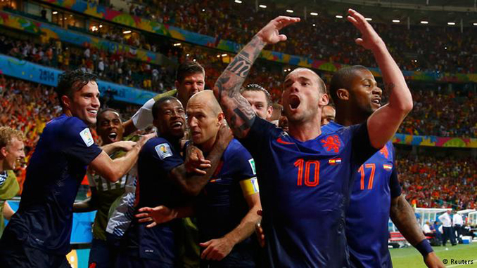 World Champions Humiliated by the Netherlands