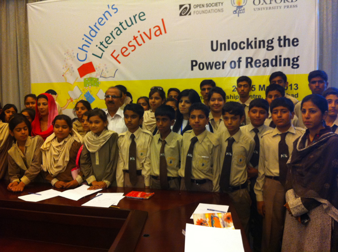 10th Children's Literature Festival (CLF) at Sanjan Nagar
