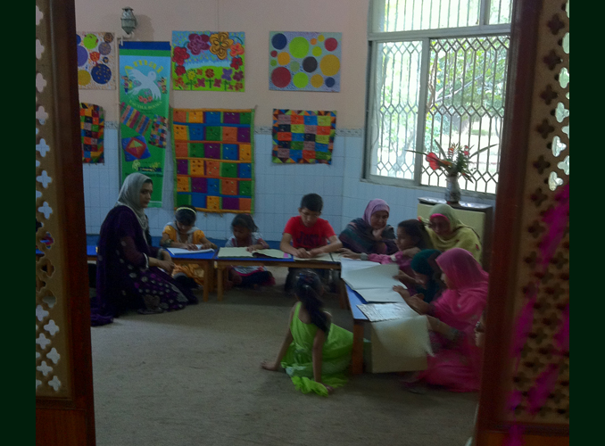 Islamabad's First Braille Art Library