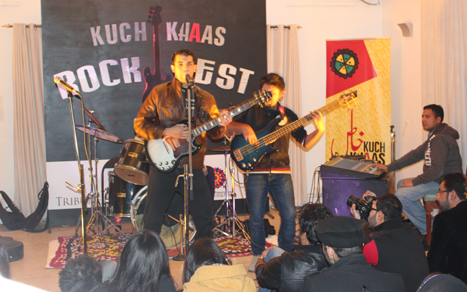 Rocking Islamabad: Shamoon and Lahu