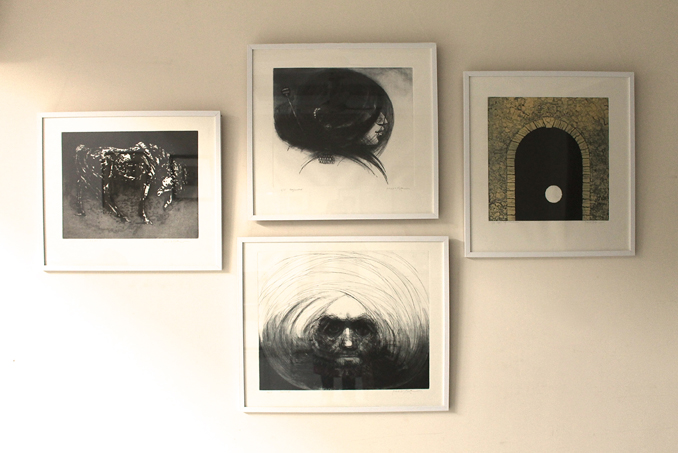 Sydney-Lahore: Prints from Cicada Press and Saeed Akhtar Studios
