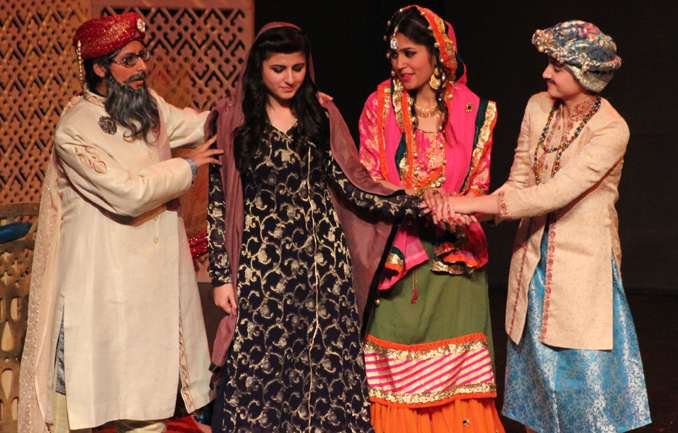 Youth Drama Festival 2015: Play 'Jaaray Ki Daastan' by Fatima Jinnah Women University