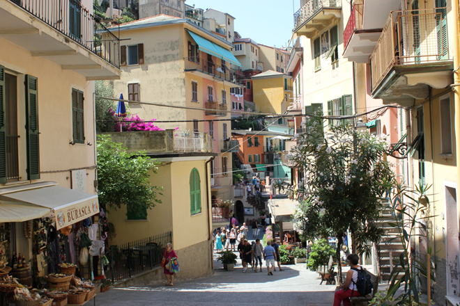 Discovering Italy: Pt II - The Five Villages