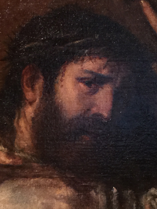 Titian's Christ Carrying the Cross, Hermitage