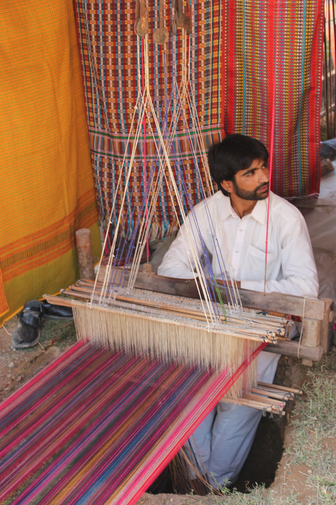 Colourful threads and motifs