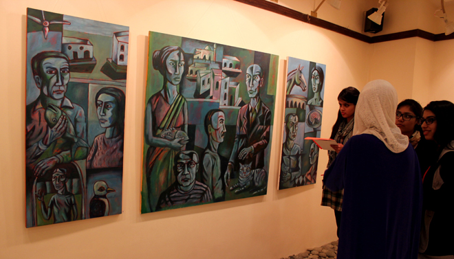 Moeen Faruqi's Paintings