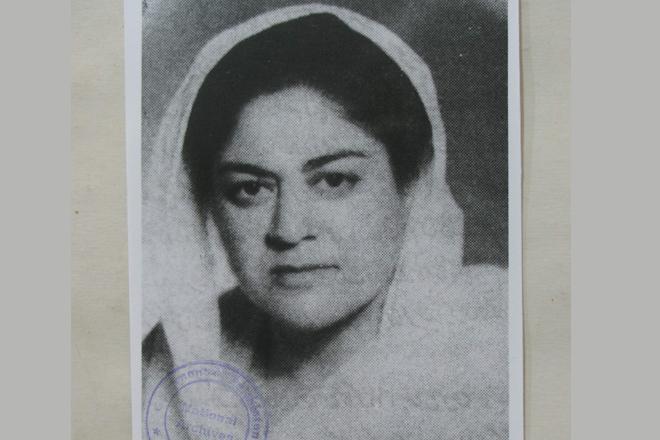 Begum Zari Sarfraz