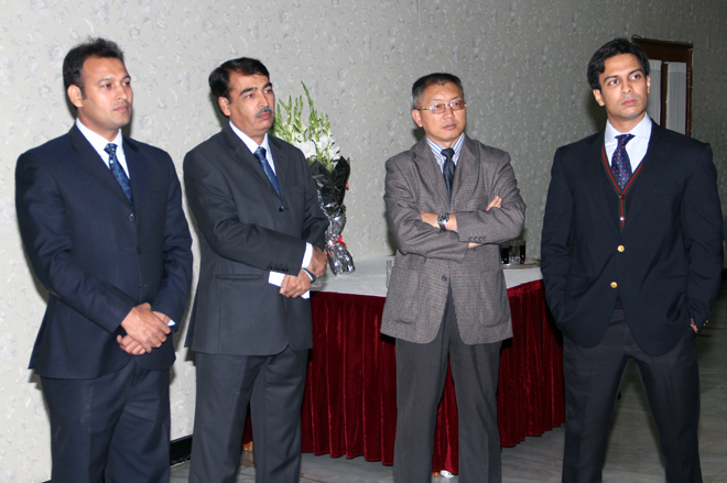 Ambassador Liu Jian with the Pakistan-China Institute