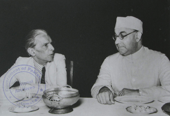Quaid with Liaquat Ali Khan, first Prime Minister of Pakistan