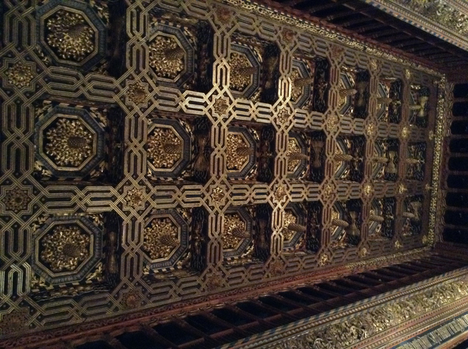 Ceiling of the Throne Room