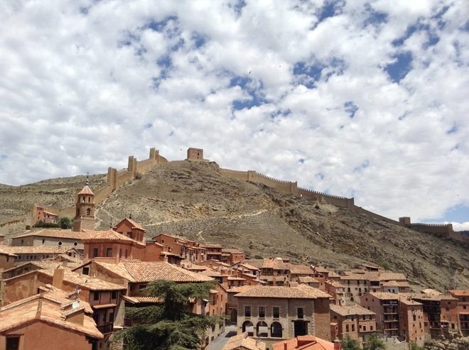 Albarracin's skyline