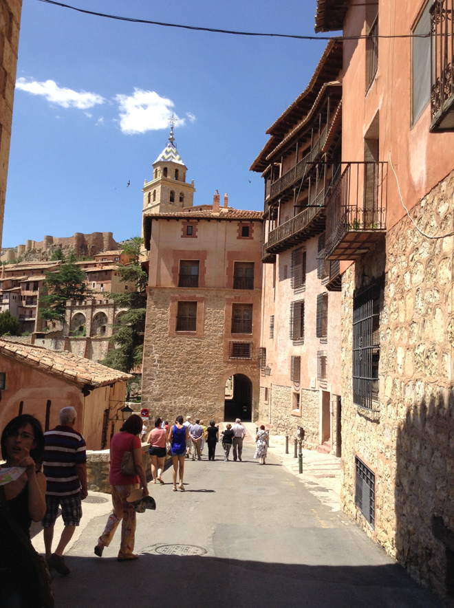 Streets of Albarracin