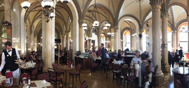 维也纳:咖啡馆文化