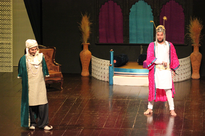 Second play at the Youth Drama Festival 2015, performed by students