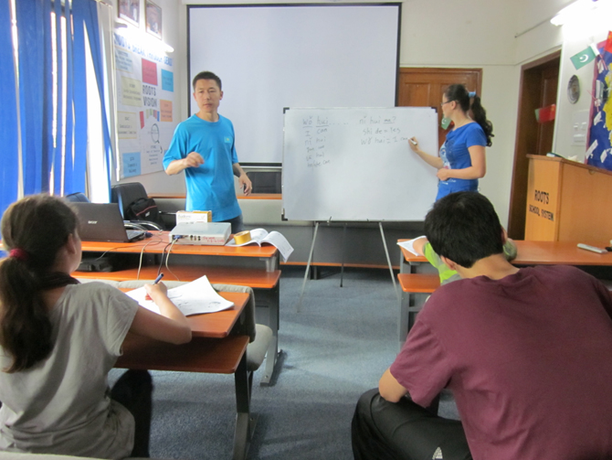 TEACHING CHINESE LANGUAGE IN PAKISTAN