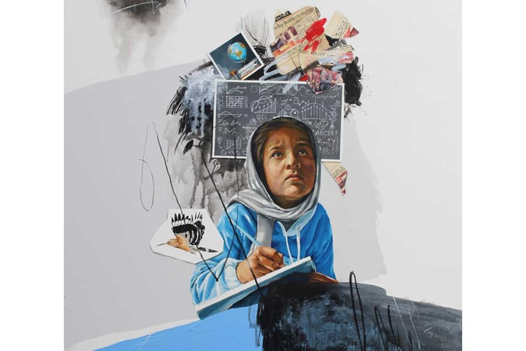 艺术评论:伊斯兰堡第六画廊的《突进2》展