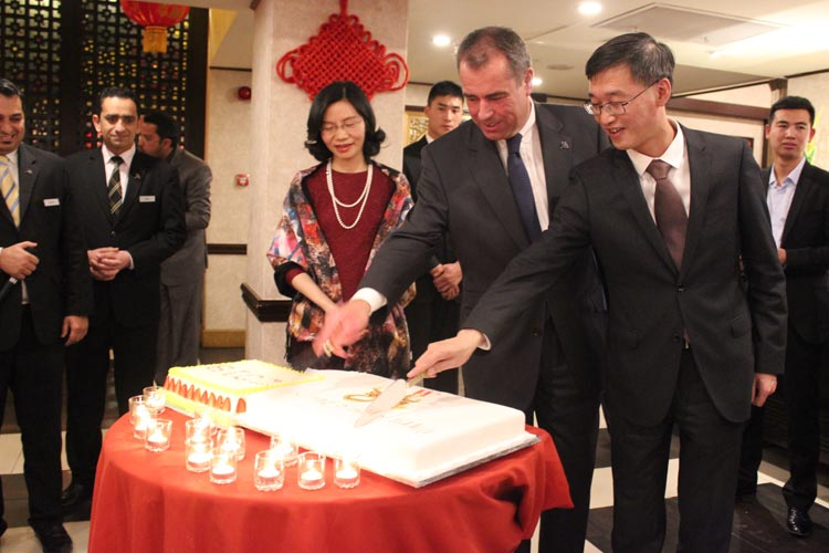 Chinese New Year Celebrated at Marriott, Islamabad