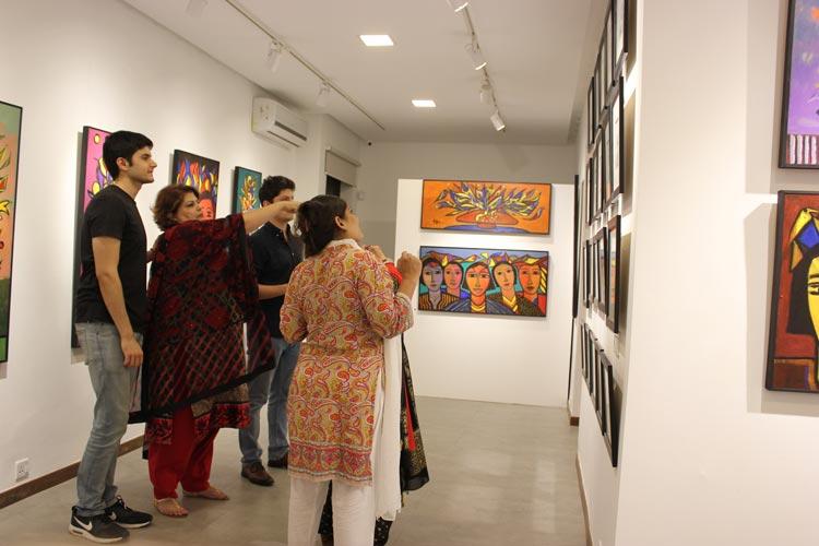 Wahab Jaffer Exhibition Opens at Tanzara Gallery, Islamabad