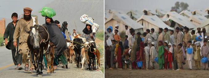 Zimmedar Shehri's IDP Relief Mission
