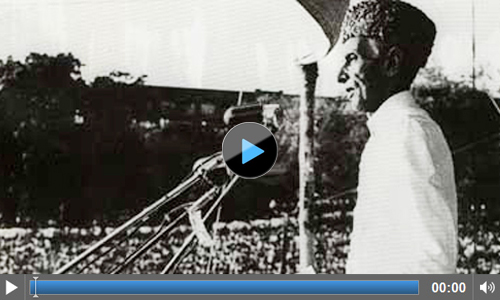 Original footage of Pakistan Resolution, 23 March 1940, Minto Park Lahore