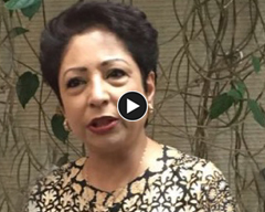 Speeck of Maleeha Lodhi at LLF in New York