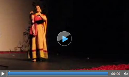 Naheed Siddiqui demonstrates Punjabi Kathak at the Lahore Literary Festival 2014
