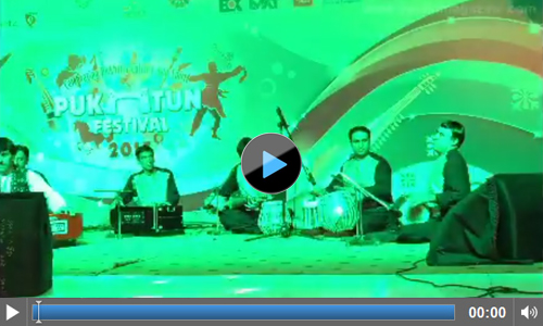 Video of Pukhtun music and Pukhtun Dance at Pukhtun Festival 2015