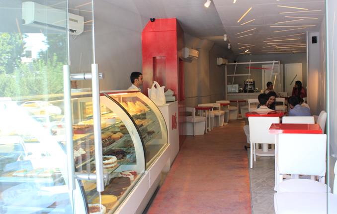 OF CHOCOLATE AND CHEESECAKE: JIA'S DELI ISLAMABAD